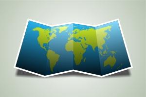 Největším světadílem je Asie, nejmenším pak Austrálie spolu s Oceánií.