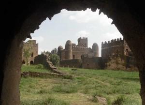 Ethiopie - kamenné kostely v Lalibela