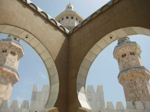 Senegal - mešita Grande Mosquée