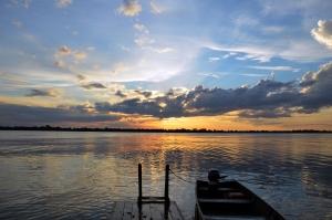 Nejdelší a zároveň nejvodnatější řekou světa je jihoamerická Amazonka.