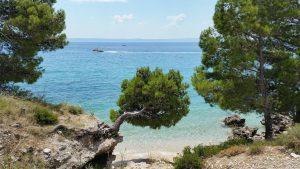 Chorvatská pláž